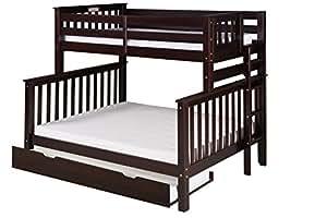 Amazon.com: Camaflexi Santa Fe Mission Tall Bunk Bed End