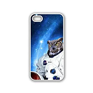 Hipster Astronaut Owl White iPhone 5 & 5S Case - Fits iPhone 5 & 5S