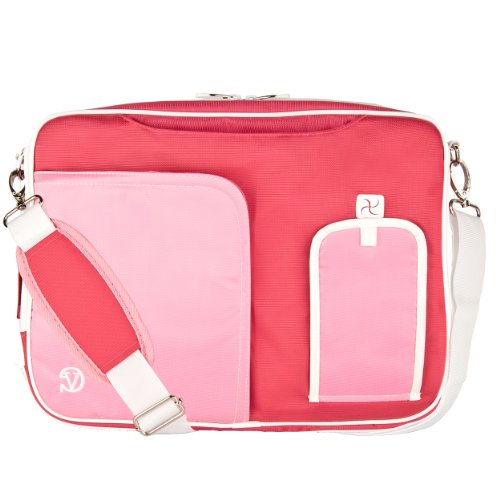 Vangoddy Pindar Messenger Bag (Pink/ White) for 15 to 15....