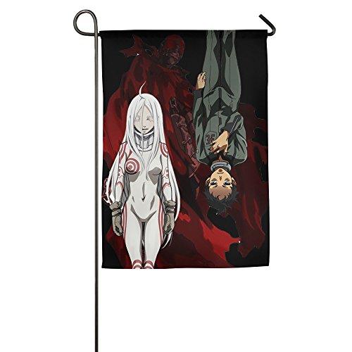 Deadman Wonderland One-Sided,Decorative Nylon Home Garden Flags 1827inch (Halloween Gladiator Accessories)