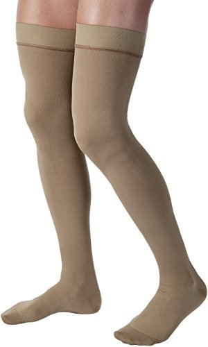 BSN Jobst For Men 30-40 Thigh High Closed Toe Compression...