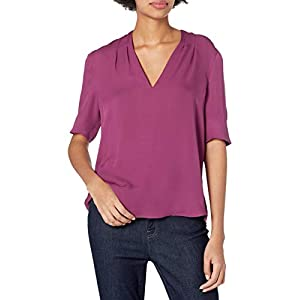 Joie womens19-5-2088H-TP01970Short Sleeve Blouse Shirt