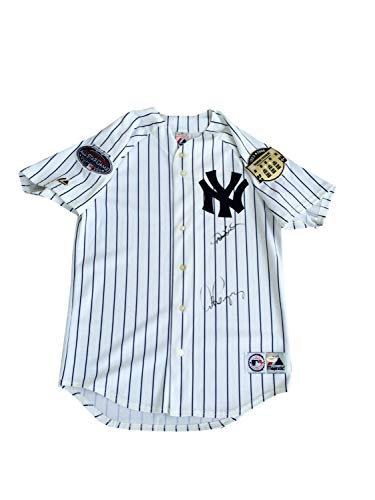 Derek Jeter Alex Rodriguez Autographed Signed New York Yankees Home Jersey - JSA Authentic