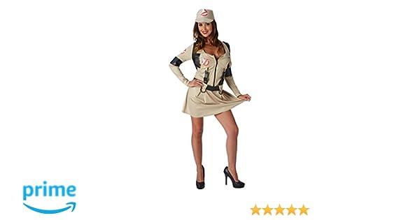 Rubies Disfraz de Halloween de Los Cazafantasmas para mujer, años 80, disfraz para adulto