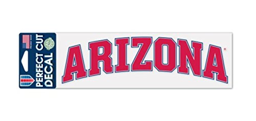 NCAA University of Arizona Wildcats 3 x 10 inch Perfect Cut Decal