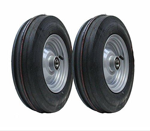 2-3.50 - 8 Haybob râteau tourneur 350x8 roue pneu Wanda pneu jante ajustée 25mm lourd