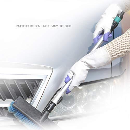 Packs Cuisine Lave Latex Bonnet Vêtements Mince Plastique Imperméable Double Blanc Durable Gants Ménage Section Brossage Écharpe Caoutchouc Et vaisselle En 3 X0xrwAXq7