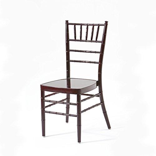 (Atlas Aluminum Chiavari Chair - Arrives Fully Assembled)