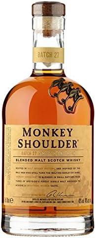 Mono hombro Blended Whisky escocés de 70 cl (Pack de 70 cl ...