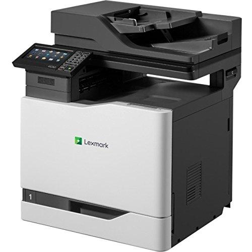 Lexmark 42KT110 CX820de Fax/Copier/Printer/Scanner with 7'' Display, Black/gray by Lexmark