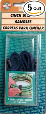 Velcro 90099 18 x 1 Blue Marine Grade Strap 2 Count