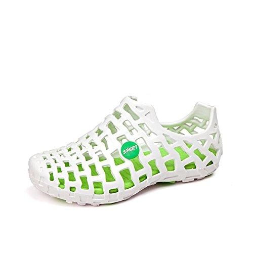 Skid-Loch Fuß Schuhe setzt/Sommer Strand Schuhe/Paare Überspannungen Schuhe-B Fußlänge=24.8CM(9.8Inch)
