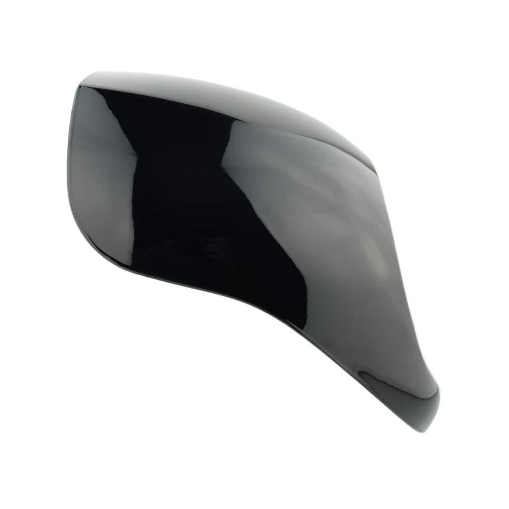 Front Fork Cowl Headlight Fairing Mask For Harley Dyna Sportster XL FXDC 1200//883 Black