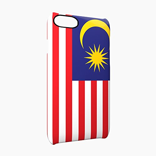 Flag of Malaysia Glossy Hard Snap-On Protective iPhone 7 Plus + Case Cover