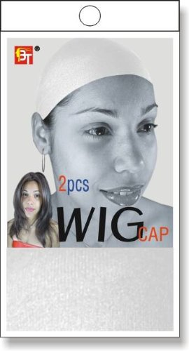 BT Stocking Wig Cap White