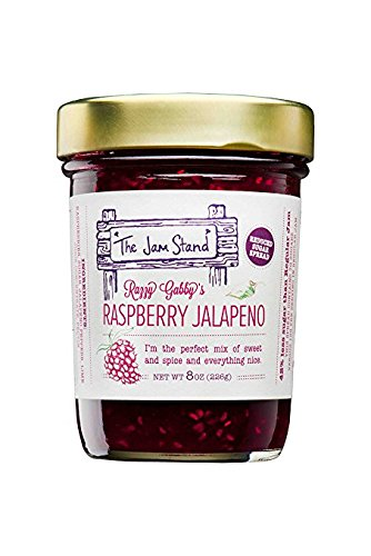 The Jam Stand, Raspberry Jalapeño Jam, 9.5 oz