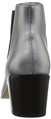Rory Metallic Ankle Block Pewter Pointed Toe Heel Fix The Women's Chelsea Boot EaPwq