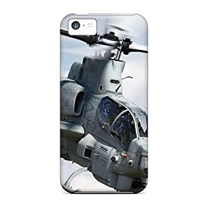 Awesome Bell Ah 1 Cobra Aircraft Flip Case With Fashion Design For Iphone 5c