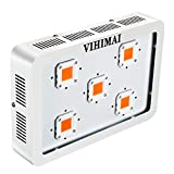 VIHIMAI 1500w COB Led Grow Light Full Spectrum with UV and IR for Indoor Plant Greenhouse Hydroponic Veg and Flower 300W COB 5pcs