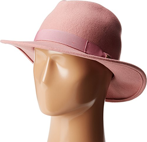 Pink Fedora Hat (San Diego Hat Company Women's WFH8039 Felt Fedora Hat Pink Hat)