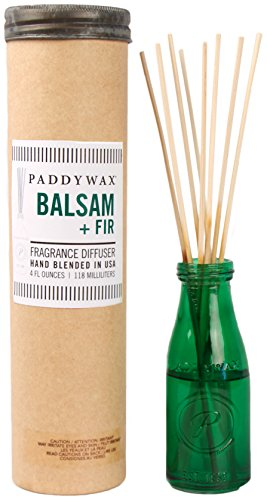 Paddywax Relish Collection Reed Oil Diffuser Set, Balsam Fir by Paddywax