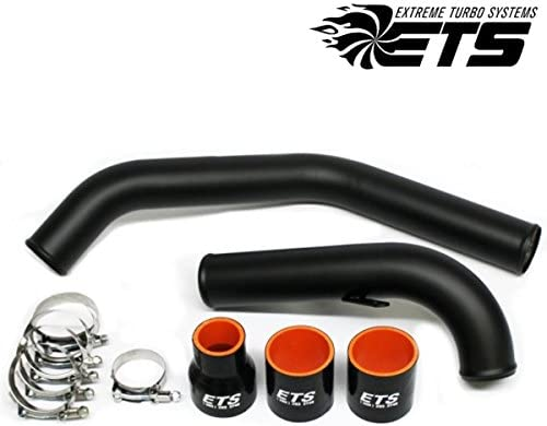 Amazon.com: ETS Black Upper Intercooler Piping Kit for 2008+ Mitsubishi Lancer Evolution X / 10: Automotive