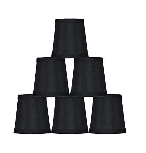 Urbanest Black Mini Chandelier Lamp Shade, 3x4x4