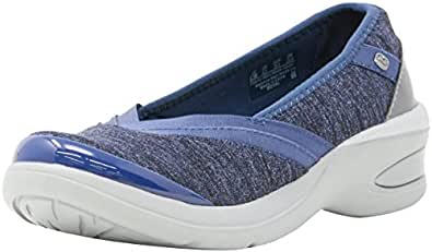 Bzees Women's ath Leisure Casual Comfort Shoe Royal, Navy, 6