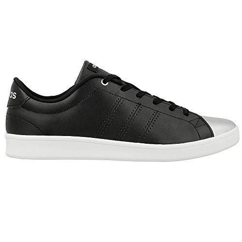Adidas Damen Avantage Baskets Qt Propre Schwarz