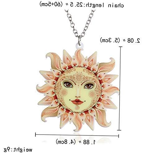 - Kaputar New Fashion Printing Pattern Moon Animals Pendant Necklace Women Jewelry Gift | Model NCKLCS - 18364 |