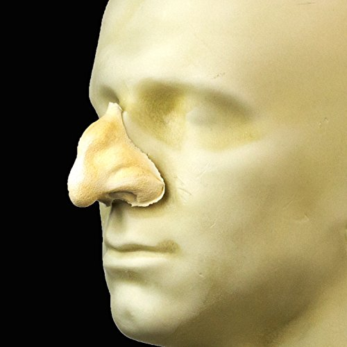Rubber Wear Foam Latex Prosthetic - Large Witch Nose FRW-005 - Makeup and Theater FX