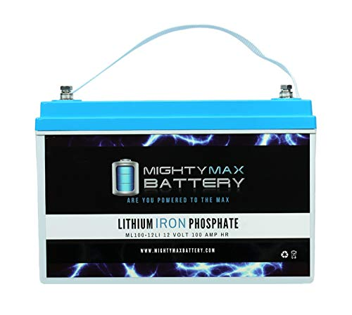 Mighty Max Battery 12V 100AH Lithium Replacement Battery for Heartway Royale 4, 4X, 4D Brand Product