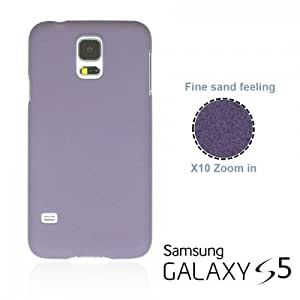 OnlineBestDigital - Frosted Surface Hard Back Plastic Case for Samsung Galaxy S5 - Purple