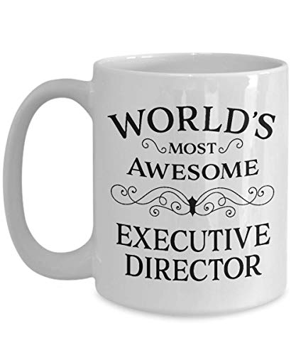 Executive Birthday Gifts - Best Gift for Executive Director - Thank You Retirement Appreciation Day Christmas Birthday Leaving Student Graduation Unique Idea Present Funny Cool New - Men Women - 15oz
