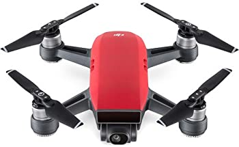 DJI Spark Lava Red Quadcopter Drone