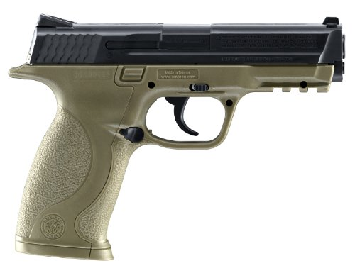 Smith wesson m p dark earth brown air pistol import