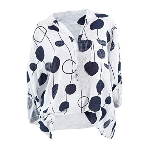 Metallic Racer Back Bra - 2019 New Women's Casual Blouse, VECDUO Plus Size Dot Print Longsleeve Shirt Tops