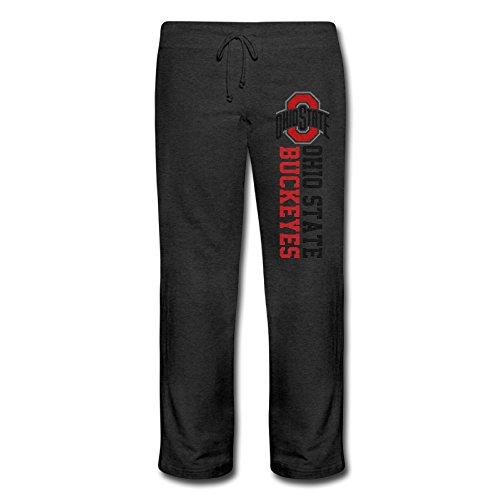 Women's Ohio State Buckeyes Logo Geek Elastic Waist Cotton Fleece Pants - City Kansas Metro North