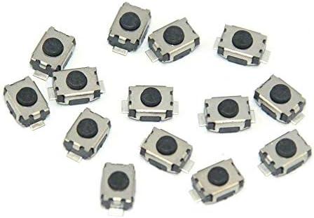 Myshopx 10 Stück Microtaster Mikro Schalter Drucktaster Microschalter Mini Push Button Switch 4x3x2mm Fernbedienung Schlüssel Taster Micro Smd Mp08k 1 Auto