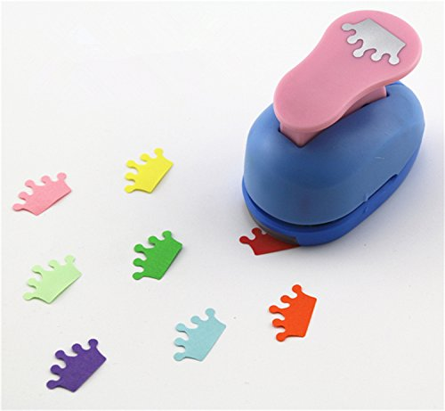 CADY Crafts Punch 1-Inch paper punches (Crown Punches)
