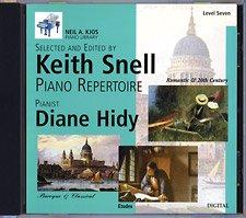Kjos Piano Library CD: Baroque/Classical, Romantic, Etudes, Prep & Level 7