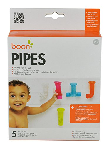 412%2BAUYZvwL - Boon Building Bath Pipes Toy Set, Set of 5
