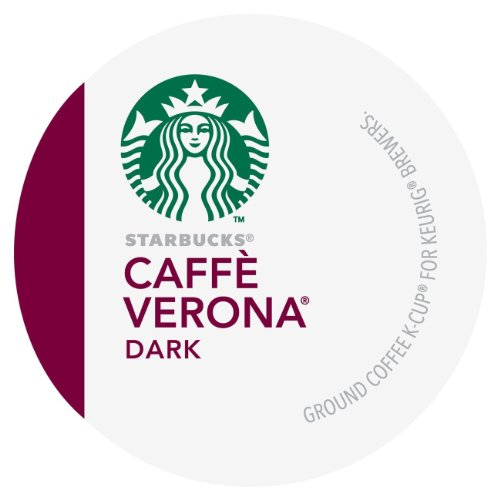 Starbucks Caffe Verona Coffee Keurig K-Cups, 24 Count (Italian Roast K Cups Starbucks compare prices)