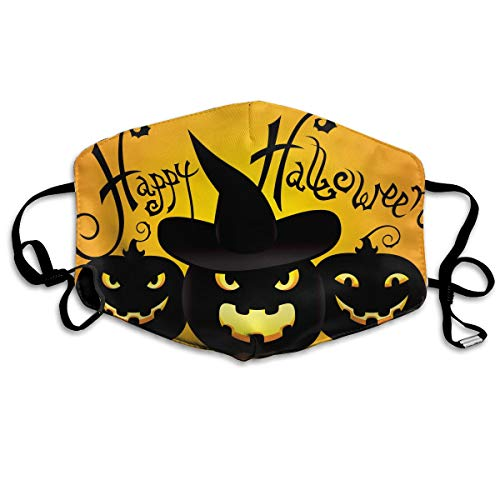 Zhenyun Happy Halloween Anti Dust Face Mask,Reusable Warm Windproof Mouth Mask