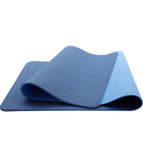 AILI Tapis De Yoga, Protection De L'environnement Double-face Anti-dérapant Sport Fitness Camping Tapis D'exercice