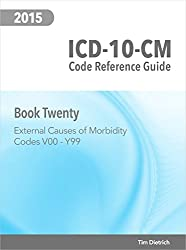 ICD-10-CM Code Reference Guide: Book 20: External Causes of Morbidity: Codes V00 Through Y99
