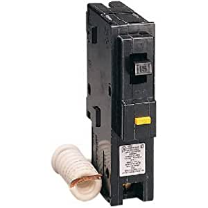 Square D by Schneider Electric HOM120GFICP Homeline 20 Amp Single-Pole GFCI Circuit Breaker