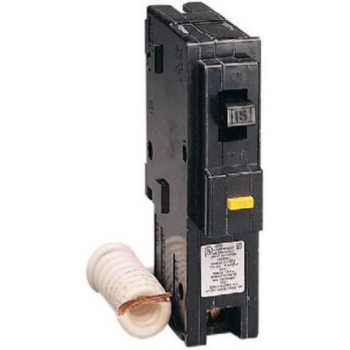 D Ground Breaker Fault Square (Square D by Schneider Electric HOM120GFICP Homeline 20 Amp Single-Pole GFCI Circuit Breaker)