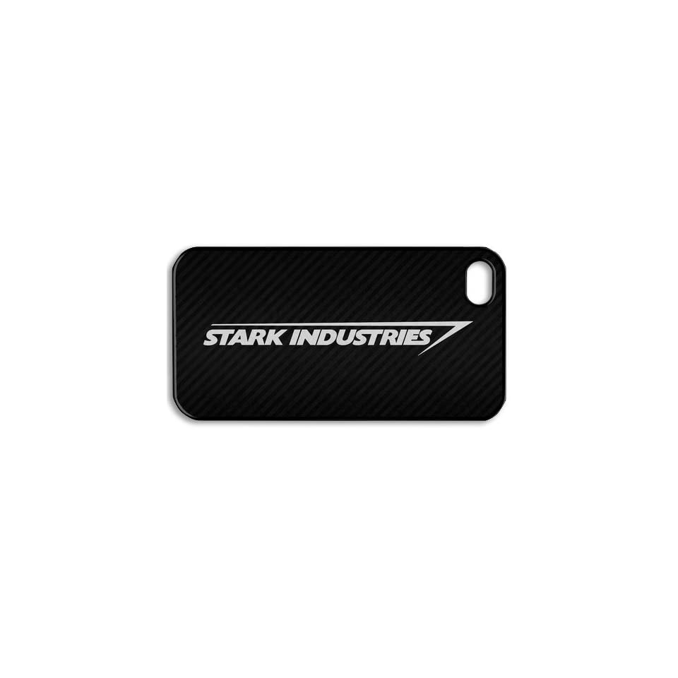 Stark Industries Iron man Iphone 4 4s Case Cover ,Apple Plastic Shell Hard Case Cover Protector Gift Idea Fell Happy Store's Cell Phones & Accessories