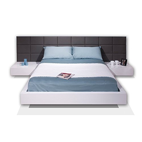Sharelle Furnishings Sharon Black Lacquer King Bed ()